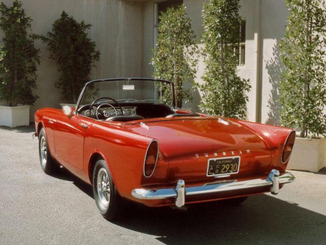 1966 Sunbeam Alpine US-spec (Series-II) retro classic convertible g wallpaper