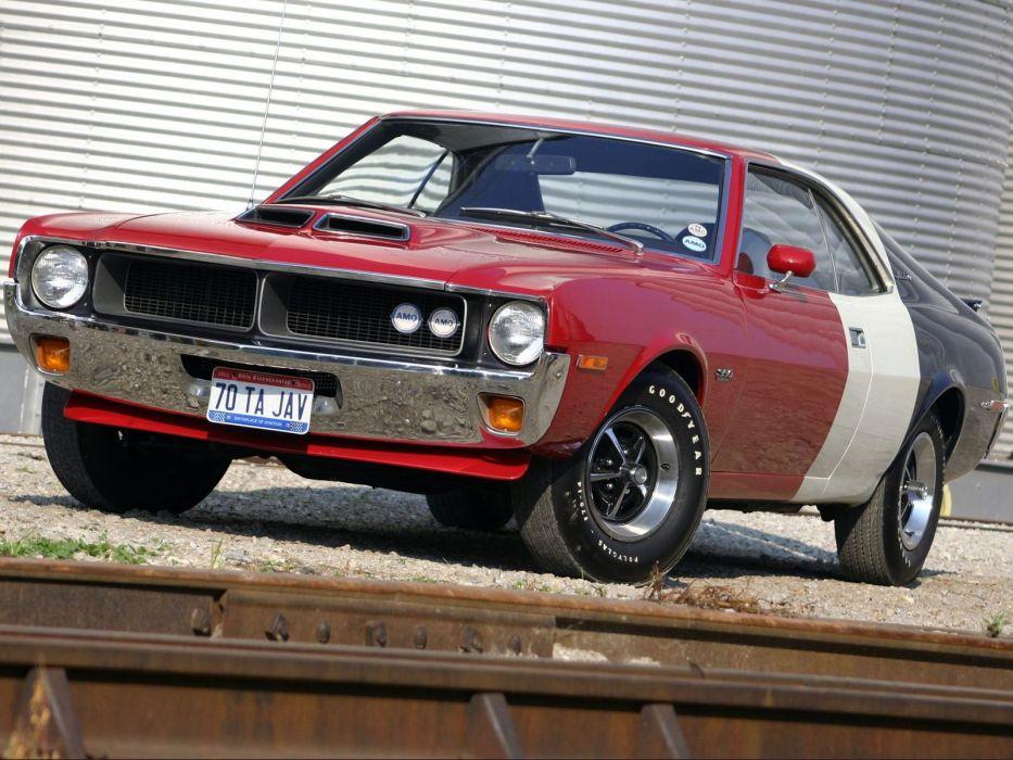 1970 AMC Javelin Trans-Am muscle classic      g wallpaper