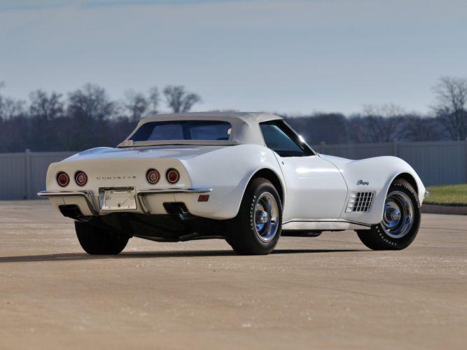 1970 Chevrolet Corvette ZR-1 Convertible (DA3) muscle supercar classic f wallpaper