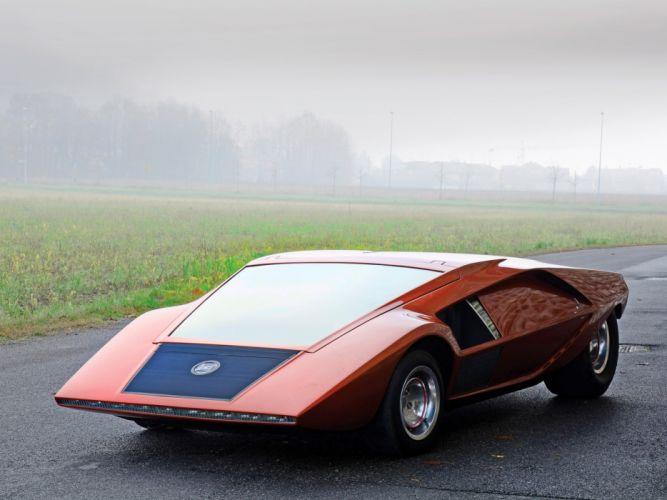 1970 Lancia Stratos Zero supercar classic f wallpaper