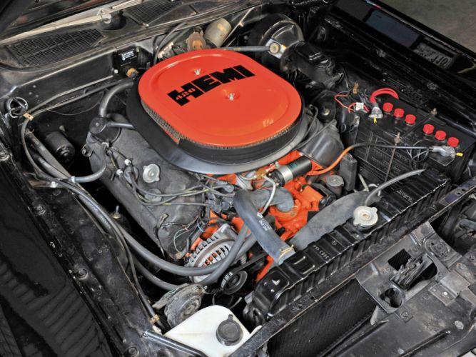 1971 Dodge Challenger R-T 426 425HP Street Hemi (JS23) muscle classic engine f wallpaper