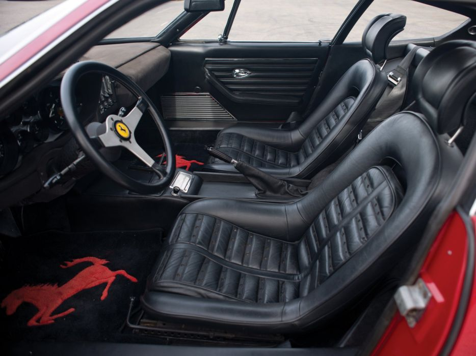 1971-73 Ferrari 365 GTB4 Daytona supercar interior    f wallpaper