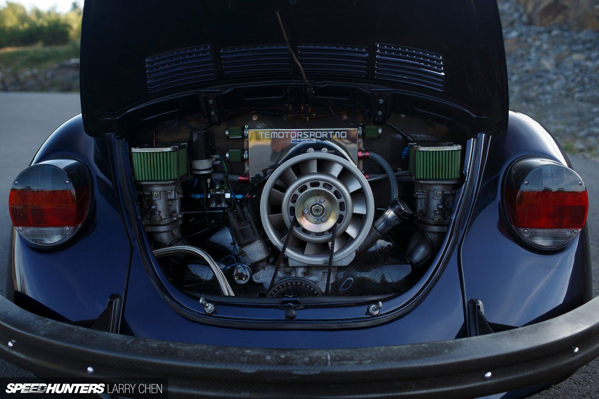 1973 Volkswagen Beetle Classic Tuning Engine G Wallpaper