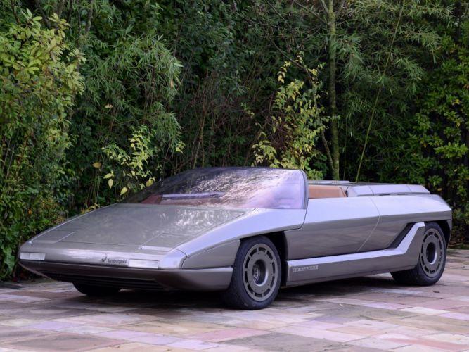 1980 Lamborghini Athon supercar concept f wallpaper