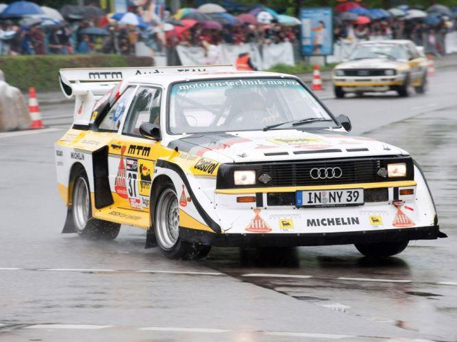 1985 Audi Sport quattro S-1 Group-B race racing fs wallpaper