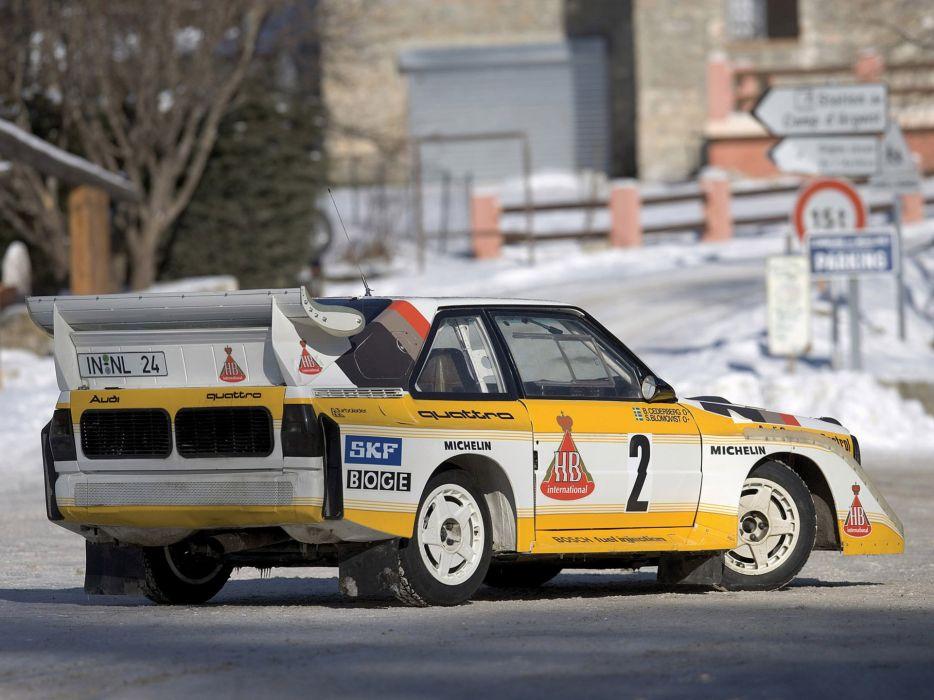 1985 Audi Sport quattro S-1 Group-B race racing  f wallpaper