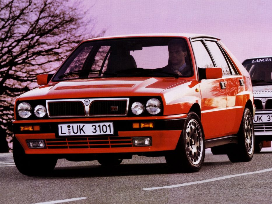 1989 91 Lancia Delta H F Integrale 16v 831 F Wallpaper