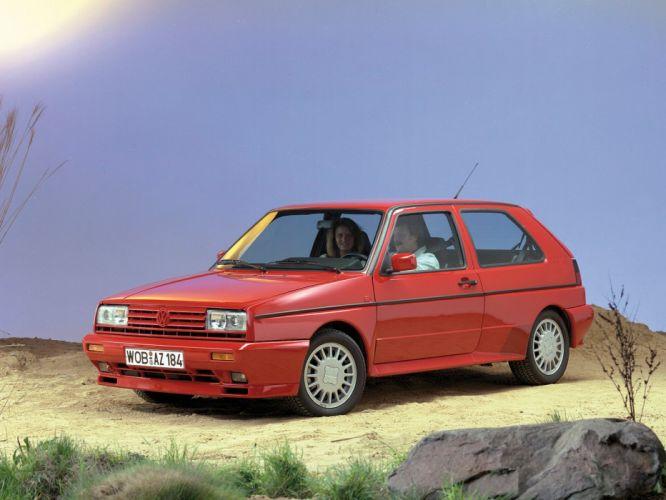 1989-91 Volkswagen Golf Rallye G60 (Typ-1G) r wallpaper