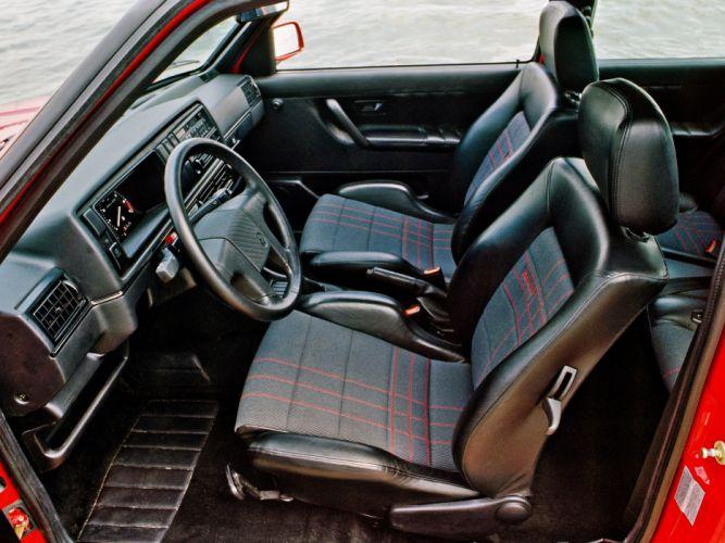 1989-91 Volkswagen Golf Rallye G60 (Typ-1G) interior f wallpaper