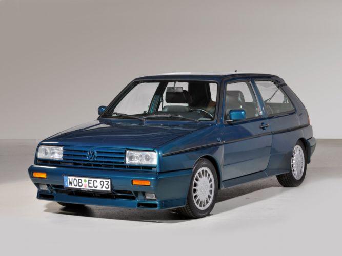 1989-91 Volkswagen Golf Rallye G60 (Typ-1G) f wallpaper