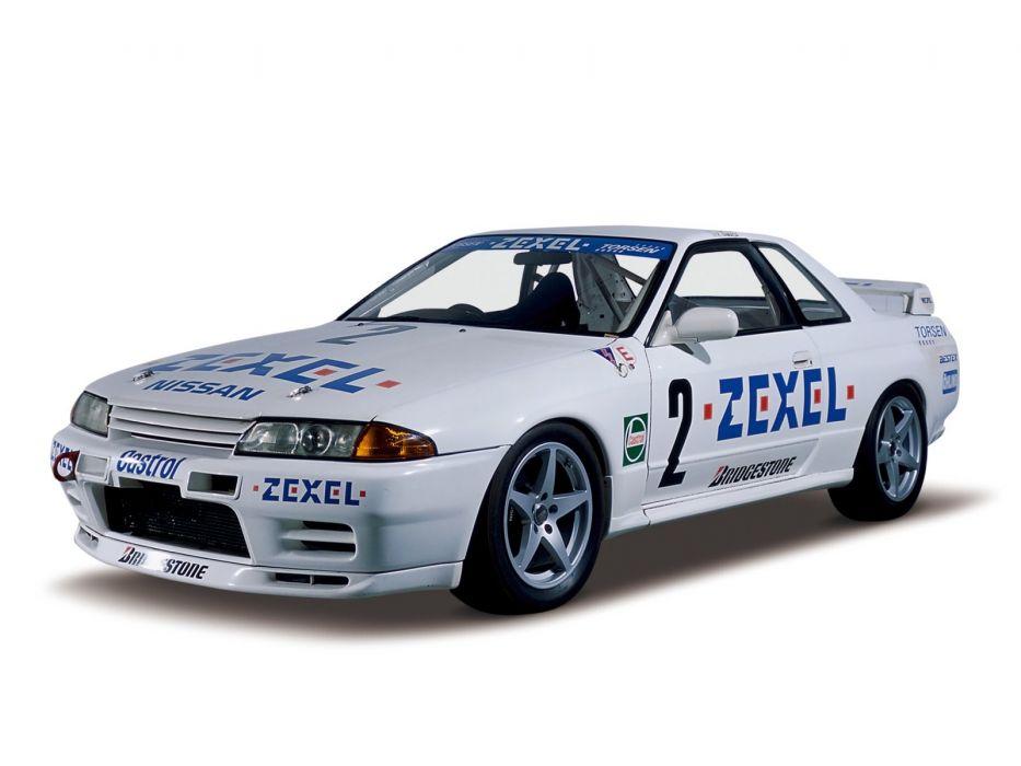 1989-93 Nissan Skyline GT-R JGTC Race R32 racing  r wallpaper
