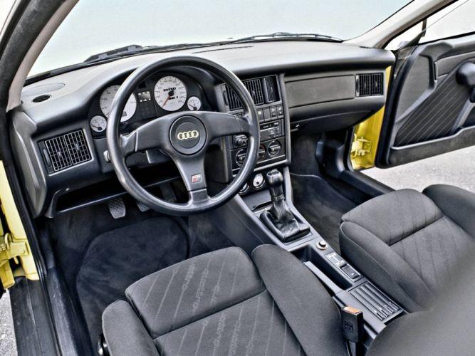 1990 Audi S-2 Coupe interior j wallpaper