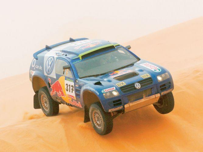 2005 Volkswagen RaceTouareg1 2667x2000 wallpaper