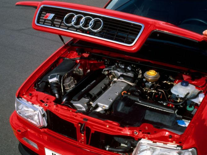 1990 Audi S-2 Coupe engine g wallpaper