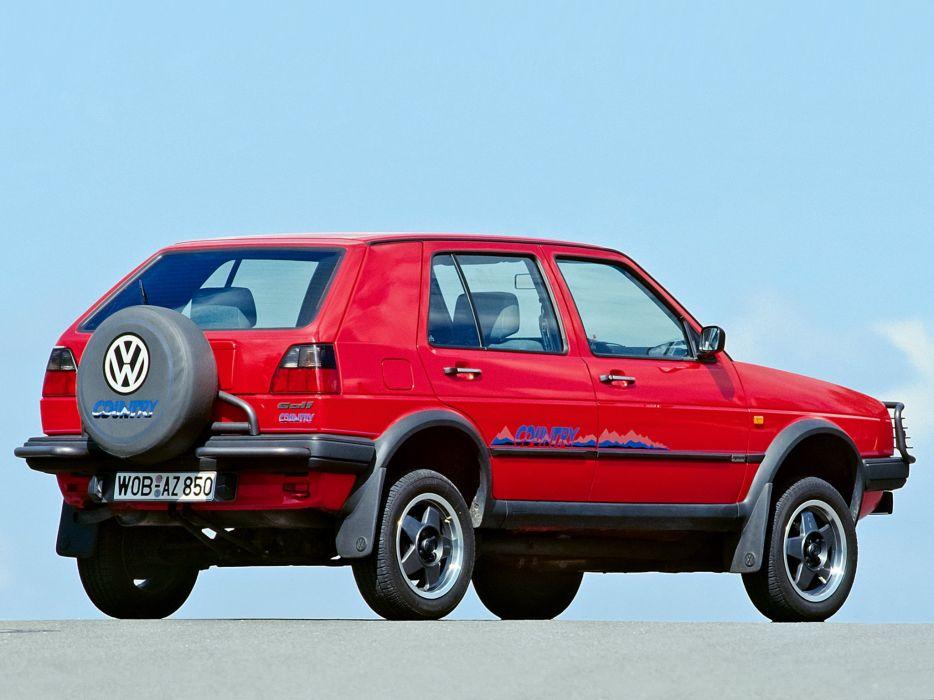 1990 Volkswagen Golf Country (Typ-1G) awd f wallpaper
