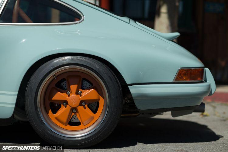 1992 Singer Porsche 911 (964) supercar wheel d wallpaper