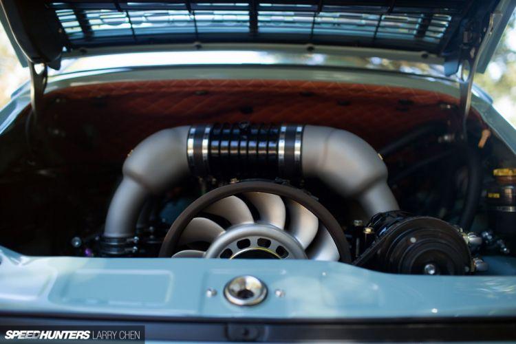 1992 Singer Porsche 911 (964) supercar engine h wallpaper