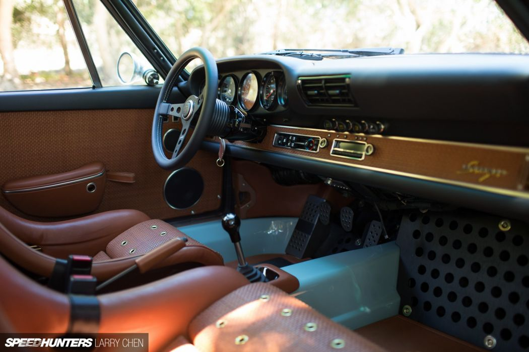 1992 Singer Porsche 911 (964) supercar interior n wallpaper