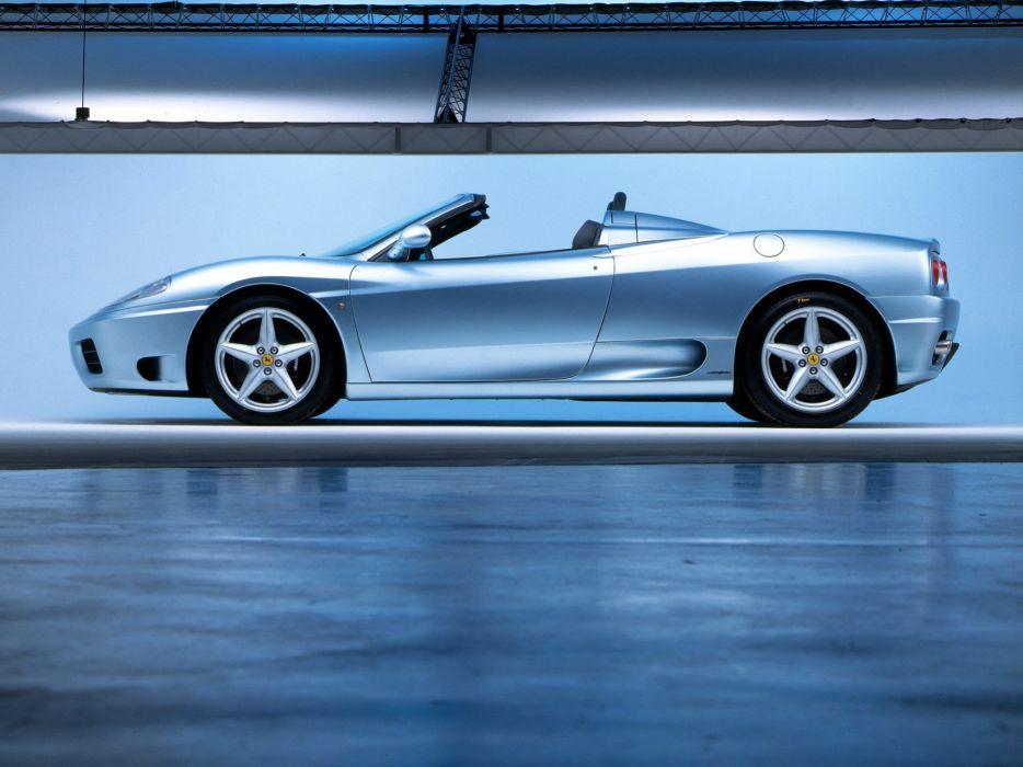 2000-05 Ferrari 360 Spider supercar  r wallpaper