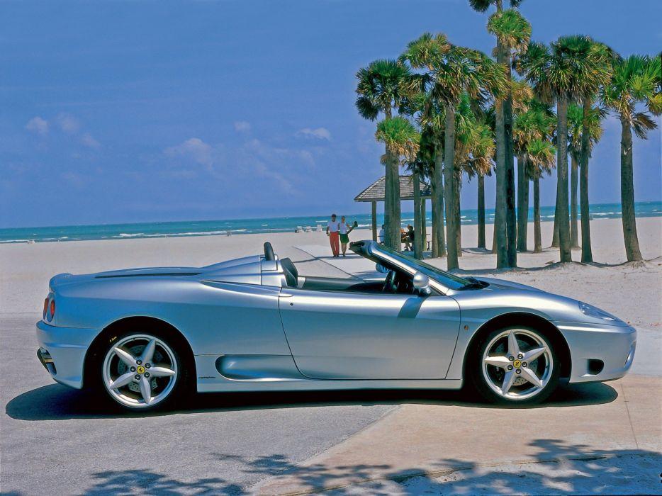 2000-05 Ferrari 360 Spider supercar     f wallpaper