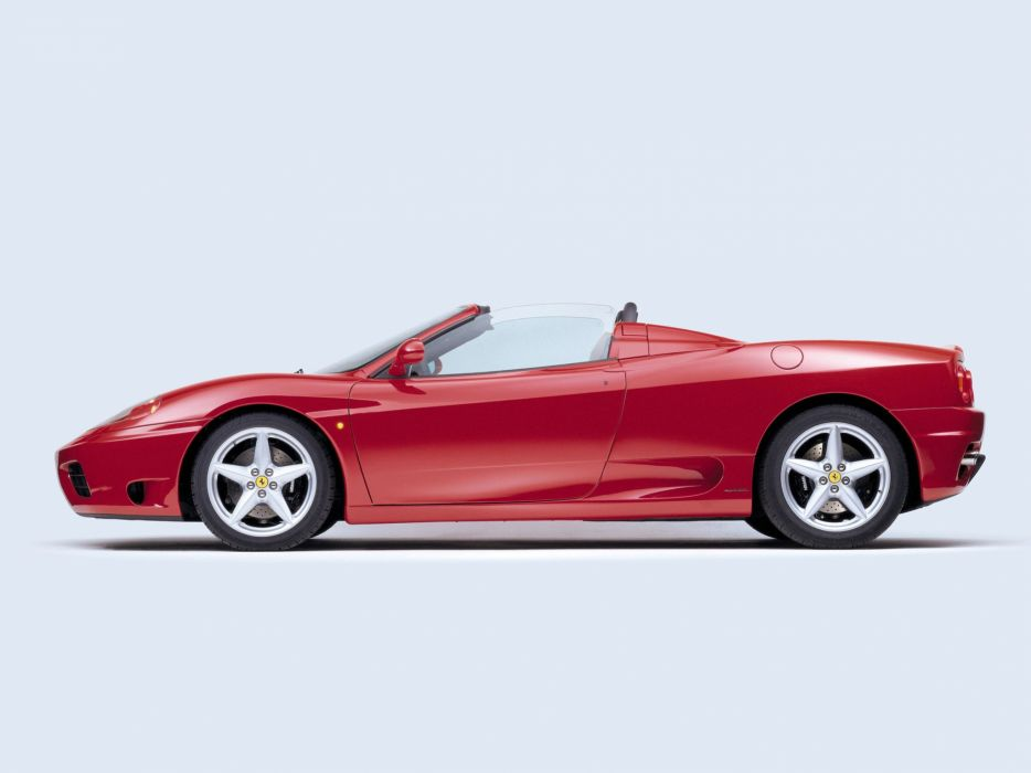 2000-05 Ferrari 360 Spider supercar  f wallpaper