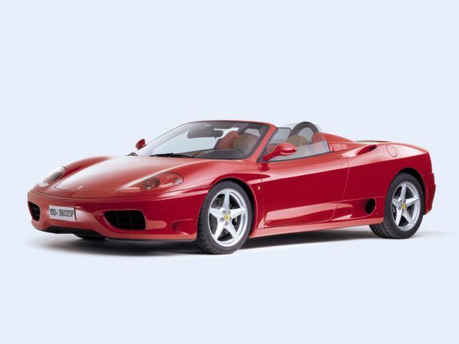 2000-05 Ferrari 360 Spider supercar d wallpaper