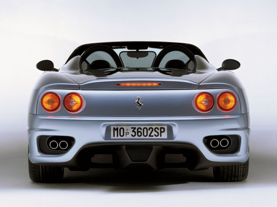 2000-05 Ferrari 360 Spider supercar  d wallpaper