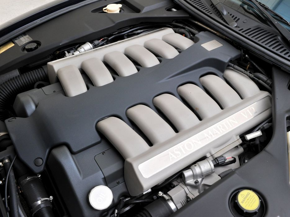 2003 Aston Martin DB7 Zagato supercar engine    g wallpaper