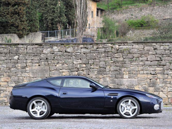 2003 Aston Martin DB7 Zagato supercar f wallpaper