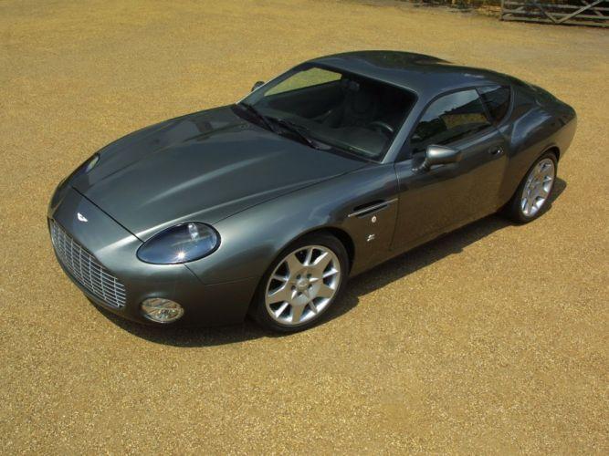 2003 Aston Martin DB7 Zagato supercar fd wallpaper