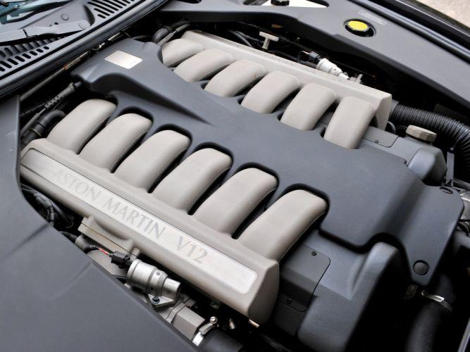 2003 Aston Martin DB7 Zagato supercar engine f wallpaper