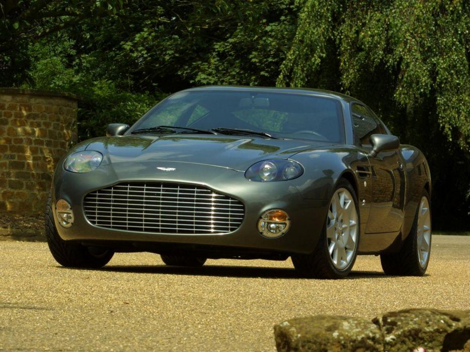 2003 Aston Martin DB7 Zagato supercar  r wallpaper