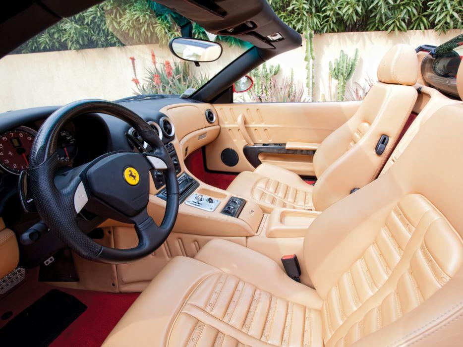 2005 Ferrari 575 Superamerica supercar interior   g wallpaper