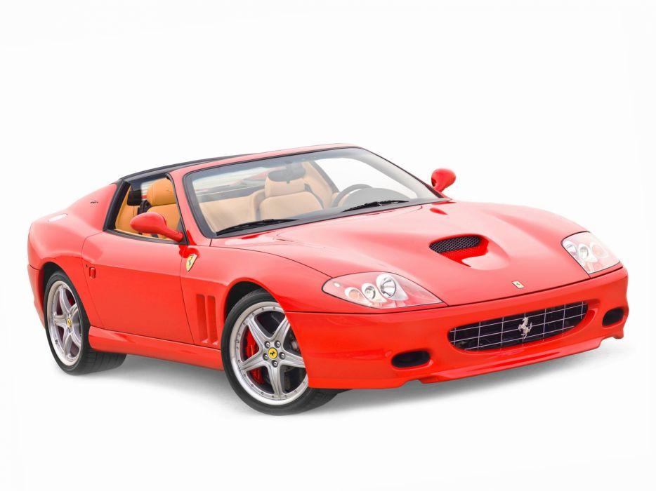 2005 Ferrari 575 Superamerica supercar  t wallpaper