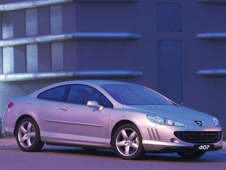 2006-2009 Peugeot 407 Coupe 3-0 V-6 ZA-spec  g wallpaper