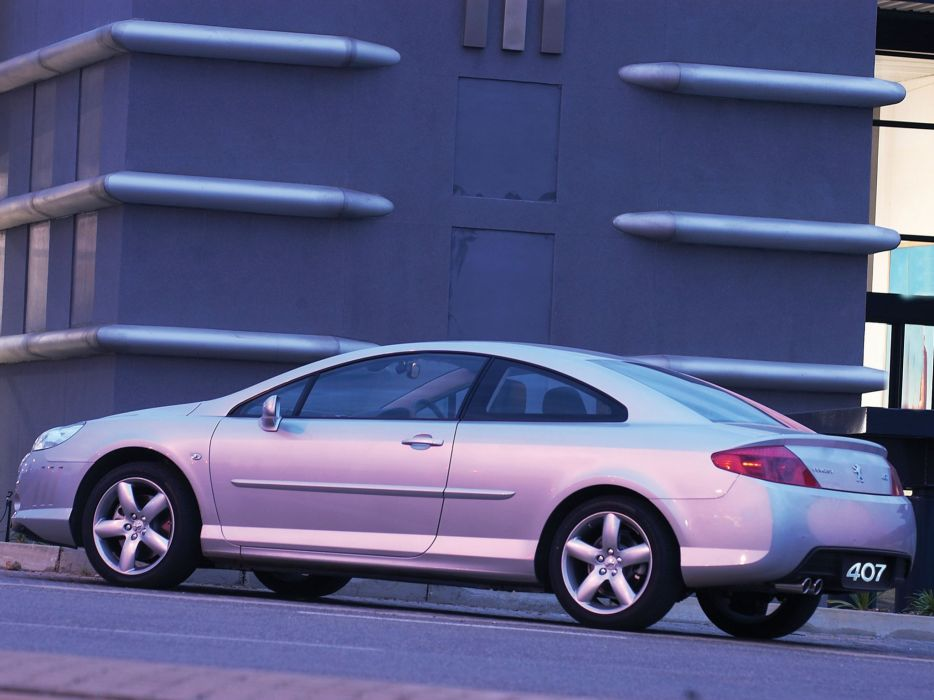 2006-2009 Peugeot 407 Coupe 3-0 V-6 ZA-spec  rf wallpaper