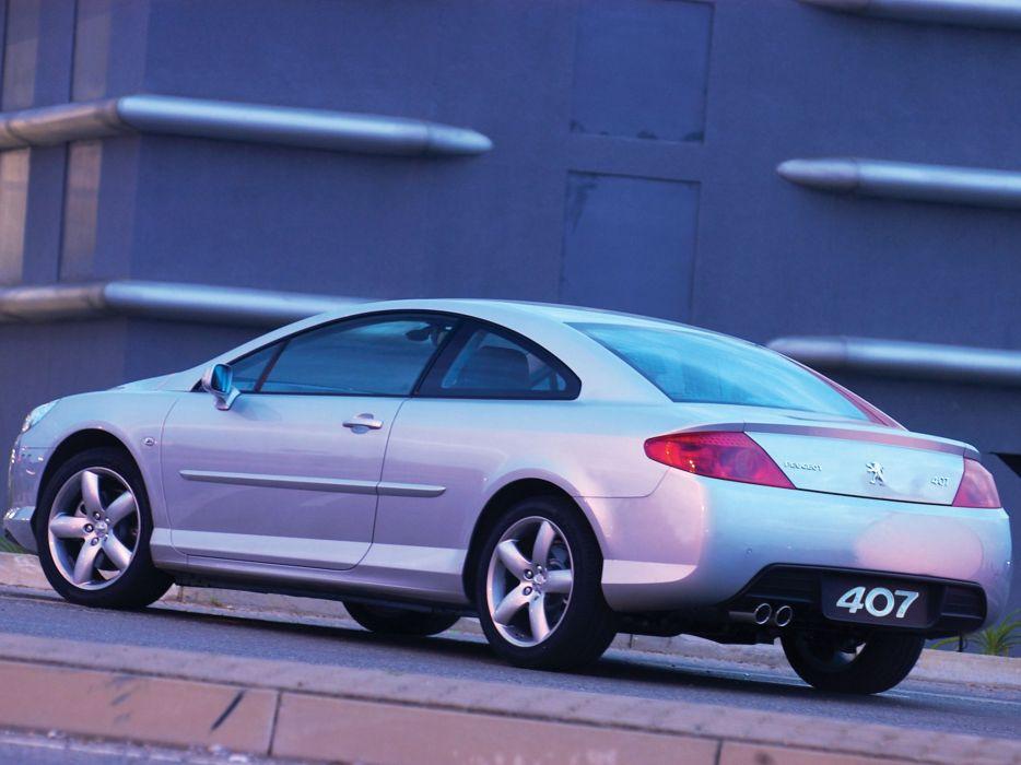 2006-2009 Peugeot 407 Coupe 3-0 V-6 ZA-spec  e wallpaper