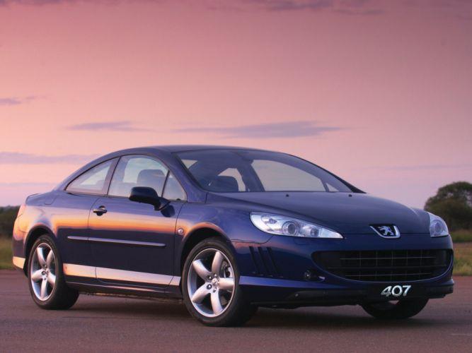 2006-2009 Peugeot 407 Coupe 3-0 V-6 ZA-spec f wallpaper
