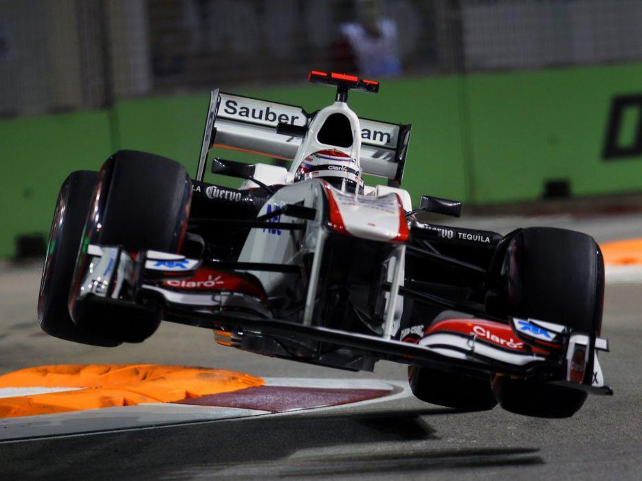 2011 Sauber C30 F-1 formula race racing    g wallpaper