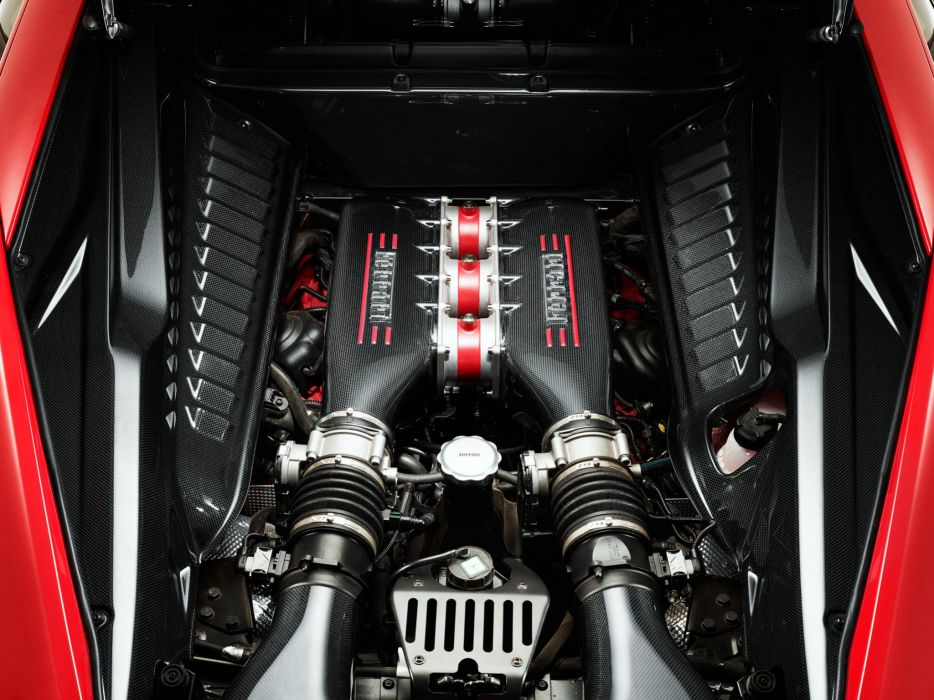 2013 Ferrari 458 Speciale Supercar Engine F Wallpaper
