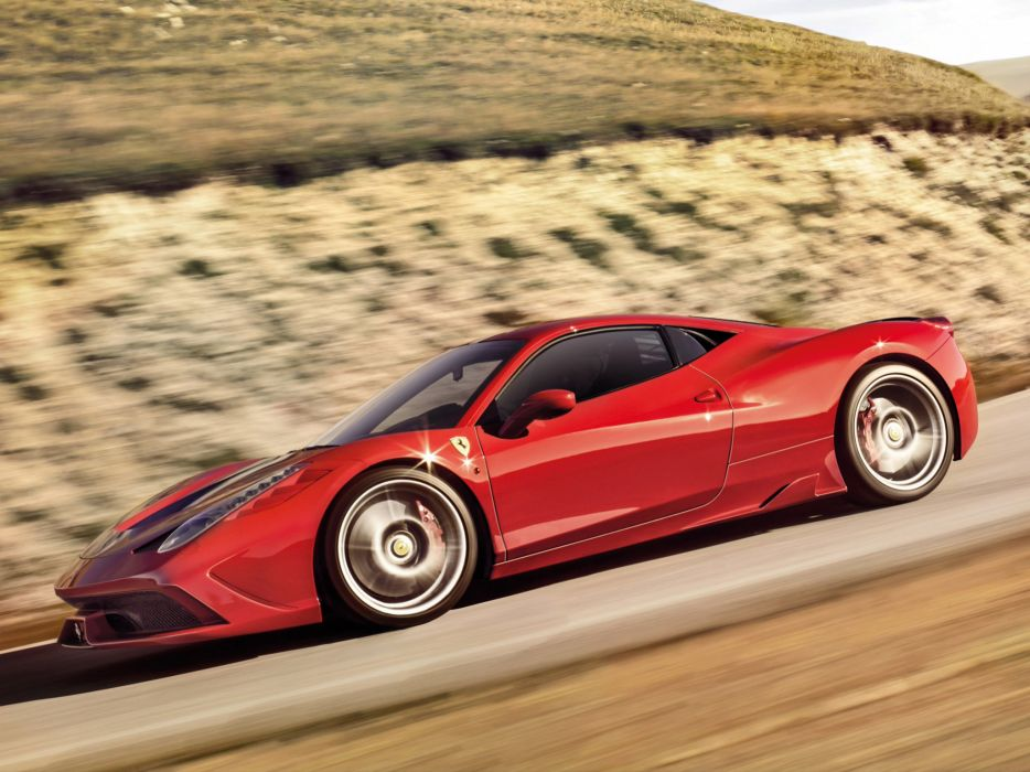 2013 Ferrari 458 Speciale supercar   f wallpaper