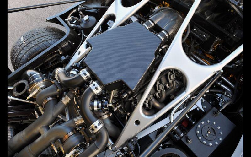 2013 Hennessey Venom G-T supercar engine f wallpaper