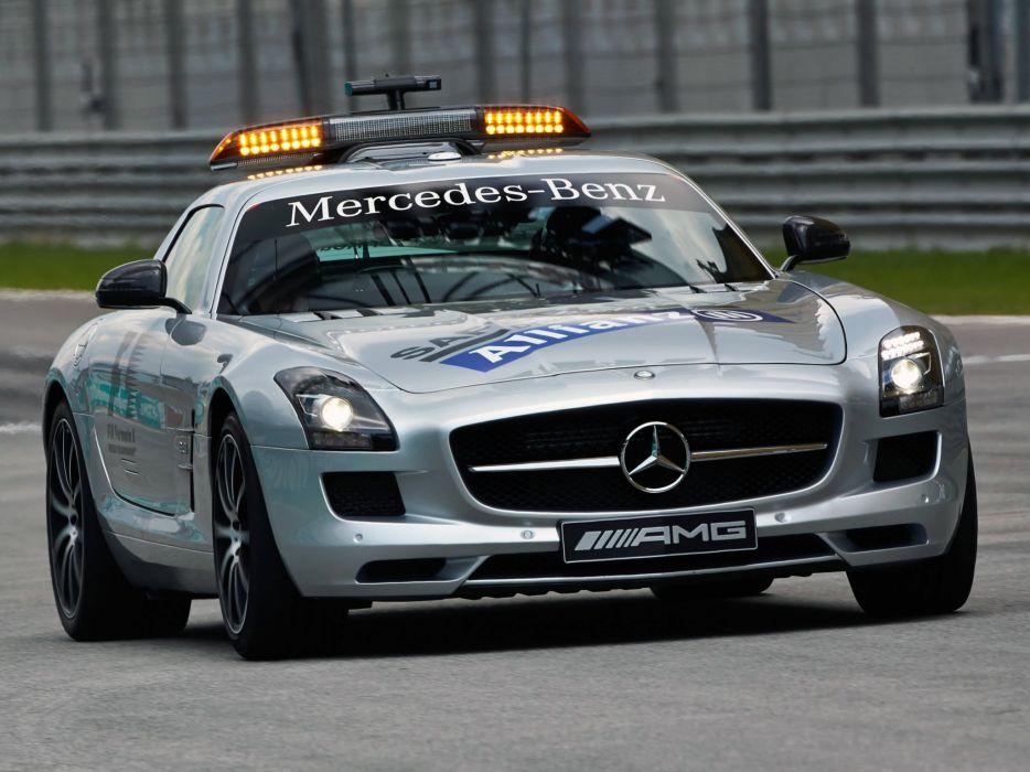 2013 Mercedes Benz SLS 6-3 AMG G-T F-1 Safety (C197) formula supercar race racing     h wallpaper