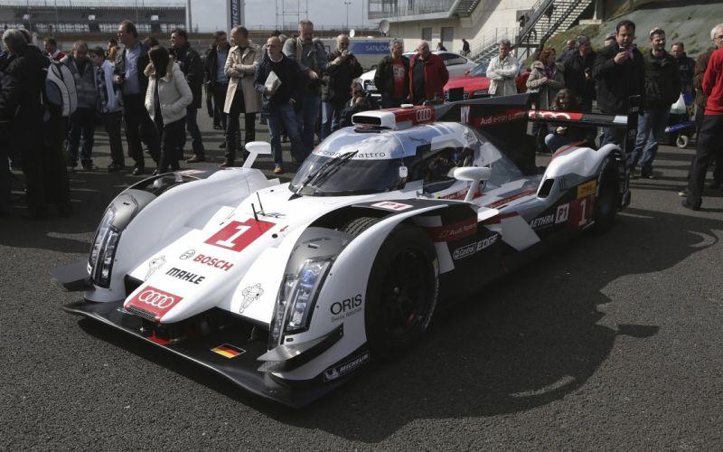 2014 Audi R18 e-Tron quattro le-mans race racing h wallpaper