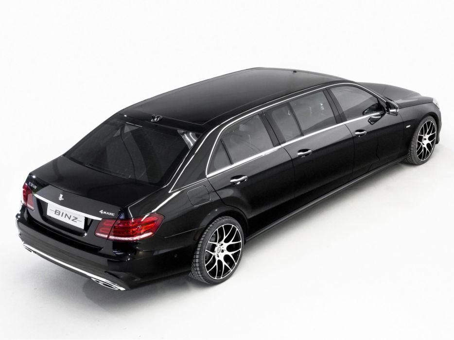 2014 Binz 6-Door Limousine (W212) mercedes benz luxury  r wallpaper