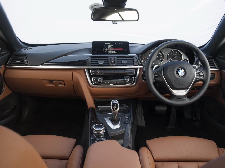 2014 BMW 428i Cabrio Luxury Line ZA-spec (F33) convertible interior  g wallpaper