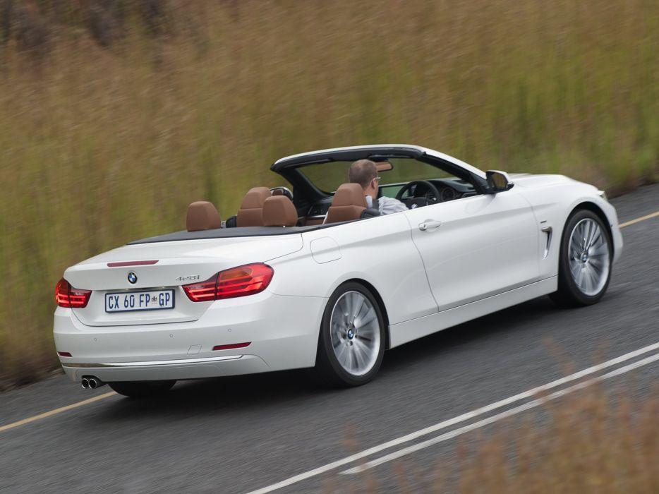 2014 BMW 428i Cabrio Luxury Line ZA-spec (F33) convertible y wallpaper