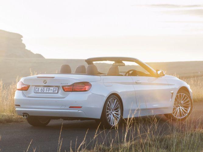 2014 BMW 428i Cabrio Luxury Line ZA-spec (F33) convertible g wallpaper