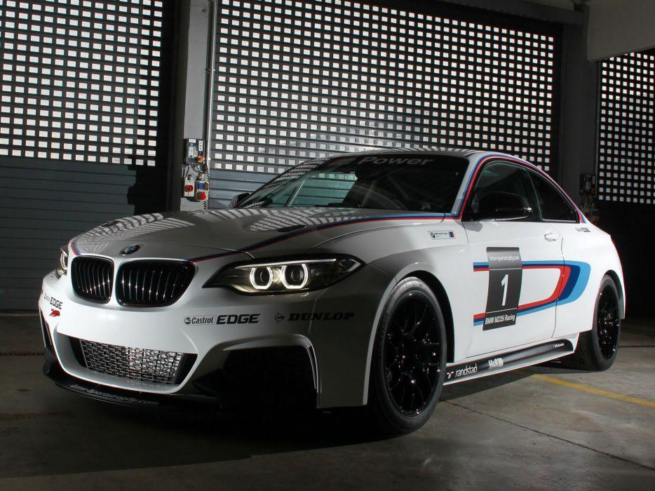 2014 BMW M235i Racing (F22) race dw wallpaper