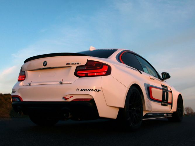 2014 BMW M235i Racing (F22) race dq wallpaper
